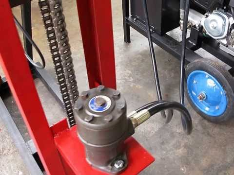 PORTABLE HYDRAULIC TUBEWELL DRILLING MACHINE PART 3
