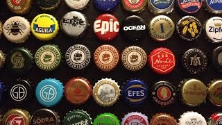 My beer bottle cap collection