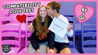 BOYFRIEND + GIRLFRIEND COMPATIBILITY LOVE TEST