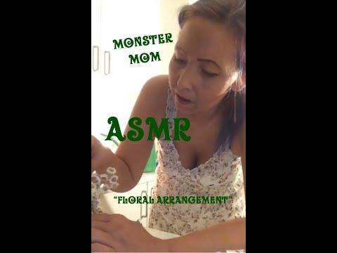 ASMR ,.  Cutting  & different great sounds from floral arrangements / soft spoken