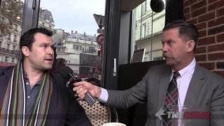 Gavin McInnes talks to witness to Paris terror attack at soccer stadium