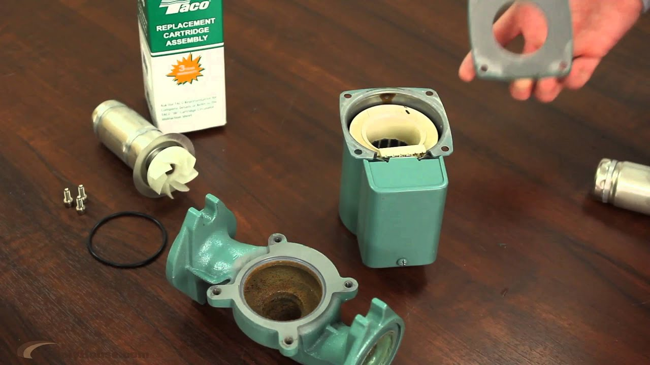 hight resolution of circulator pump cartridge replacement