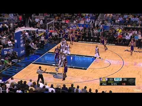 Los Angeles Lakers vs Orlando Magic 3-12-13 Dwight Howard 39 points