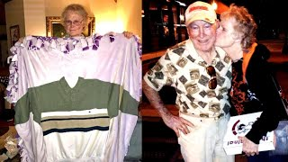 Woman With Stage 4 Cancer Surprised With Late Husband's Shirt Sewn Into Blanket