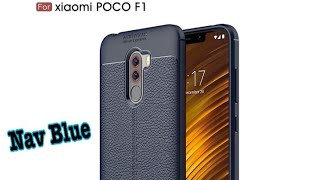 Xiaomi PocoPhone F1 Best Leather Case Autofocus - casing cover xiaomi pocophone f1