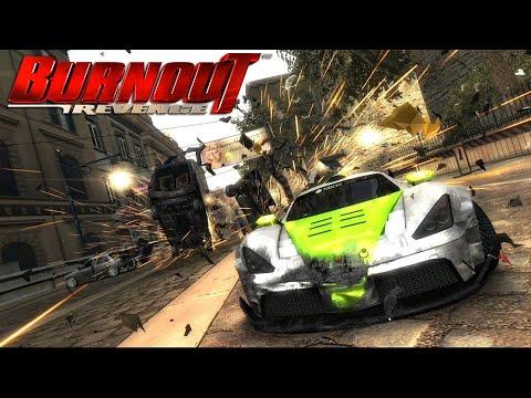 Game Racing Serem - BURNOUT REVENGE GAMEPLAY 2020
