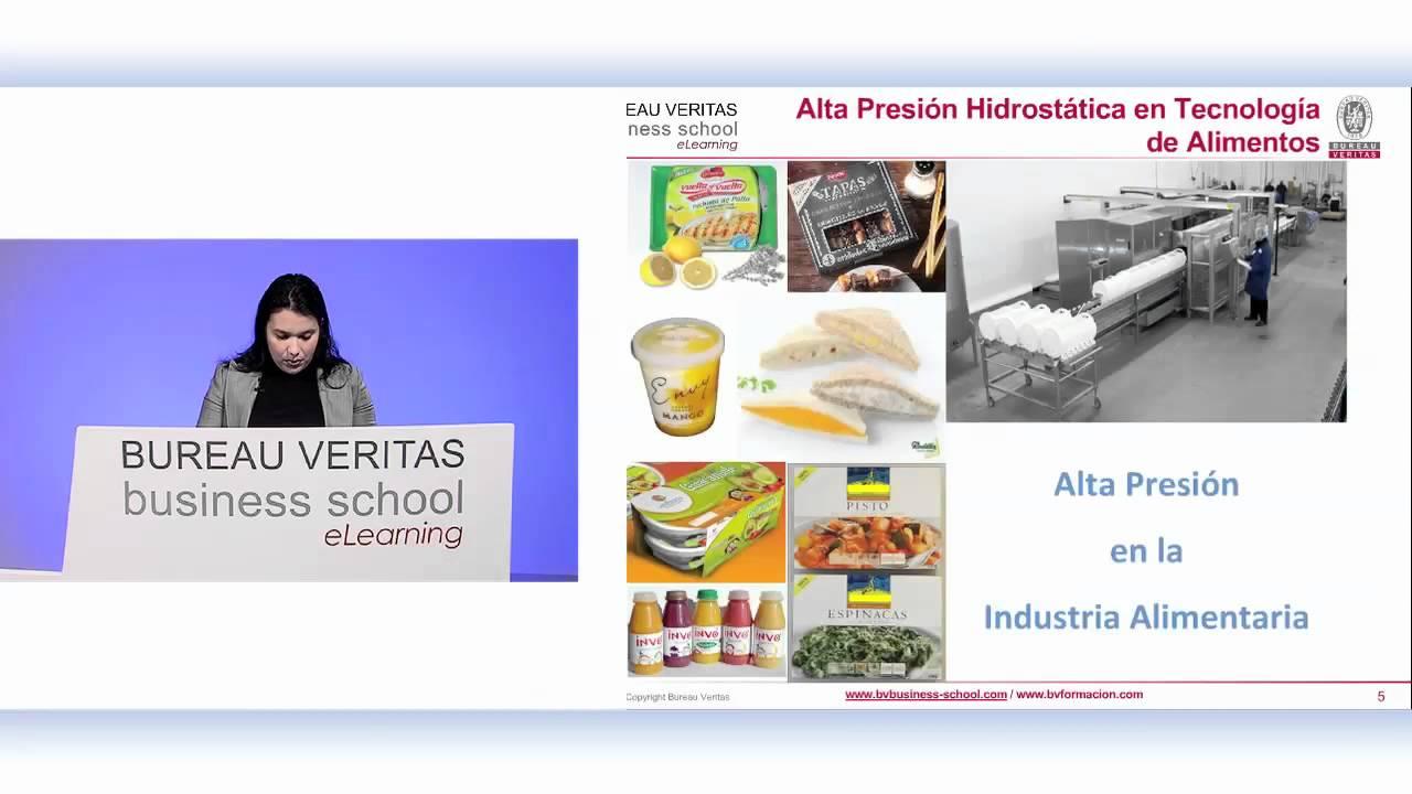Tecnolog as emergentes en la conservaci n de alimentos alta presi n hidrost tica elearning - Alimentos para la hipertension alta ...