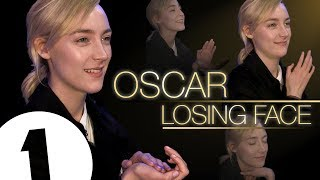 Saoirse Ronan practices her