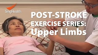 Post-Stroke Exercises (Part 1: Upper Limb)