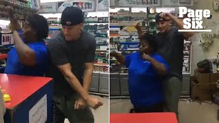 Channing Tatum grinds up on a flirty convenience store employee | Page Six