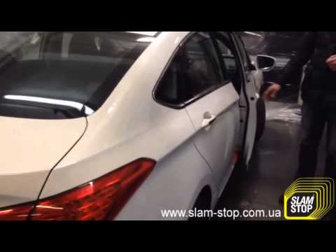 Доводчик двери на Hyundai i40 Дотяжка автомобильных дверей SlamStop