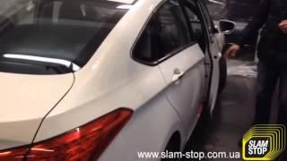 Доводчик двери на Hyundai i40 – Дотяжка автомобильных дверей SlamStop(Доводчик автомобильных дверей SlamStop: http://slam-stop.com.ua/about Обеспечивает автоматическое, плавное закрытие двери..., 2015-03-31T07:01:59.000Z)