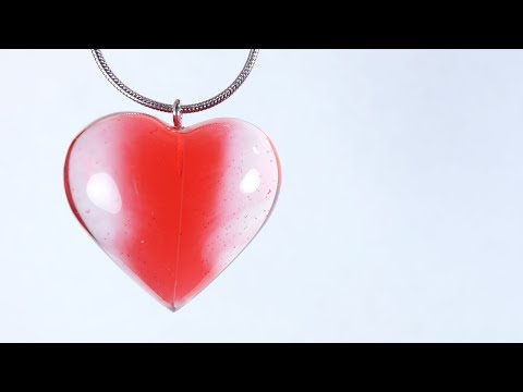 Making a Heart of Resin (Revived Heart)
