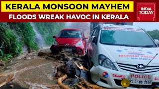 Kerala Monsoon Mayhem: Father & Son Caught In Floods   India Today