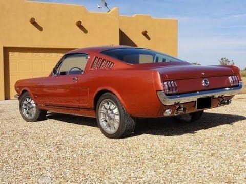 1965 Mustang Fastback K Code 289 Hipo Russo and Steel Newport Beach 2014