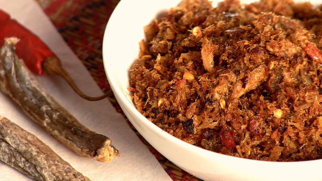 Dry fish chutney by gitika youtube for Dry fish recipe