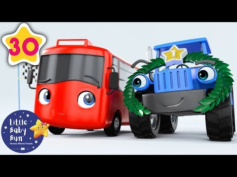 My Little Red Bus | Racing Buster | Go Buster | Baby Songs +More Nursery Rhymes | Little Baby Bum