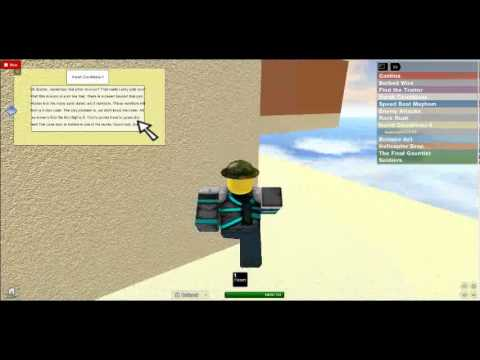 how to pass miltary inititation course roblox