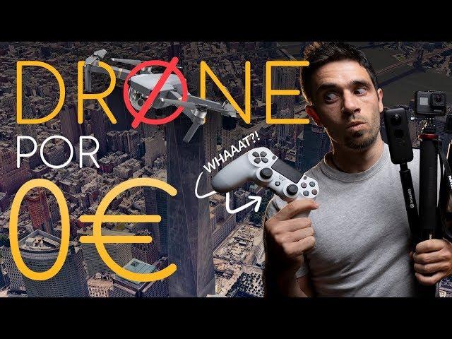 Cómo SIMULAR un DRONE 🚁 [¡Incluso sin cámara!]