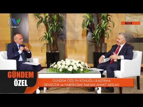 """Ahmet Arslan, Kanal V canlı yayını """"Gündem Özel""""e konuk oldu"""