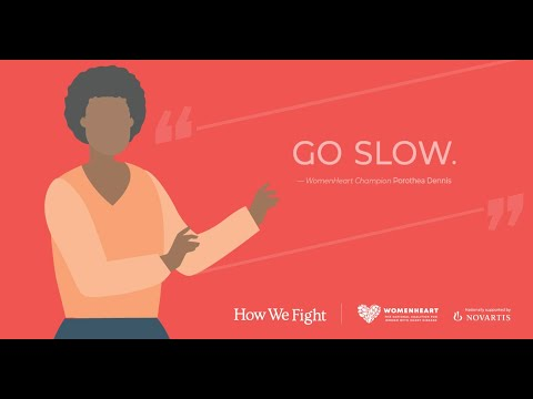 How will my heart failure affect my family? – Porothea #HowWeFight