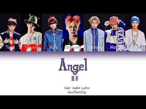 NCT127- Angel Color Coded Lyrics [Han/Rom/Eng] by spardyeol28
