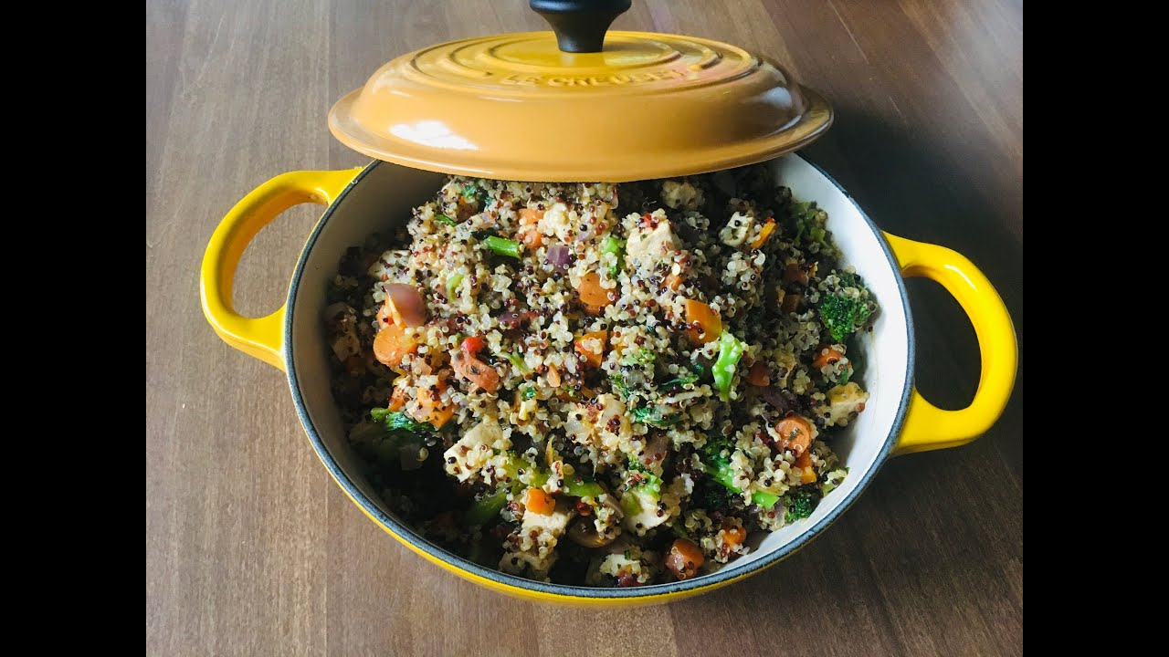 Download Cooked Ep 1   Using Le Creuset French Oven  2.5 Qt   Quinoa Vegetable Medley