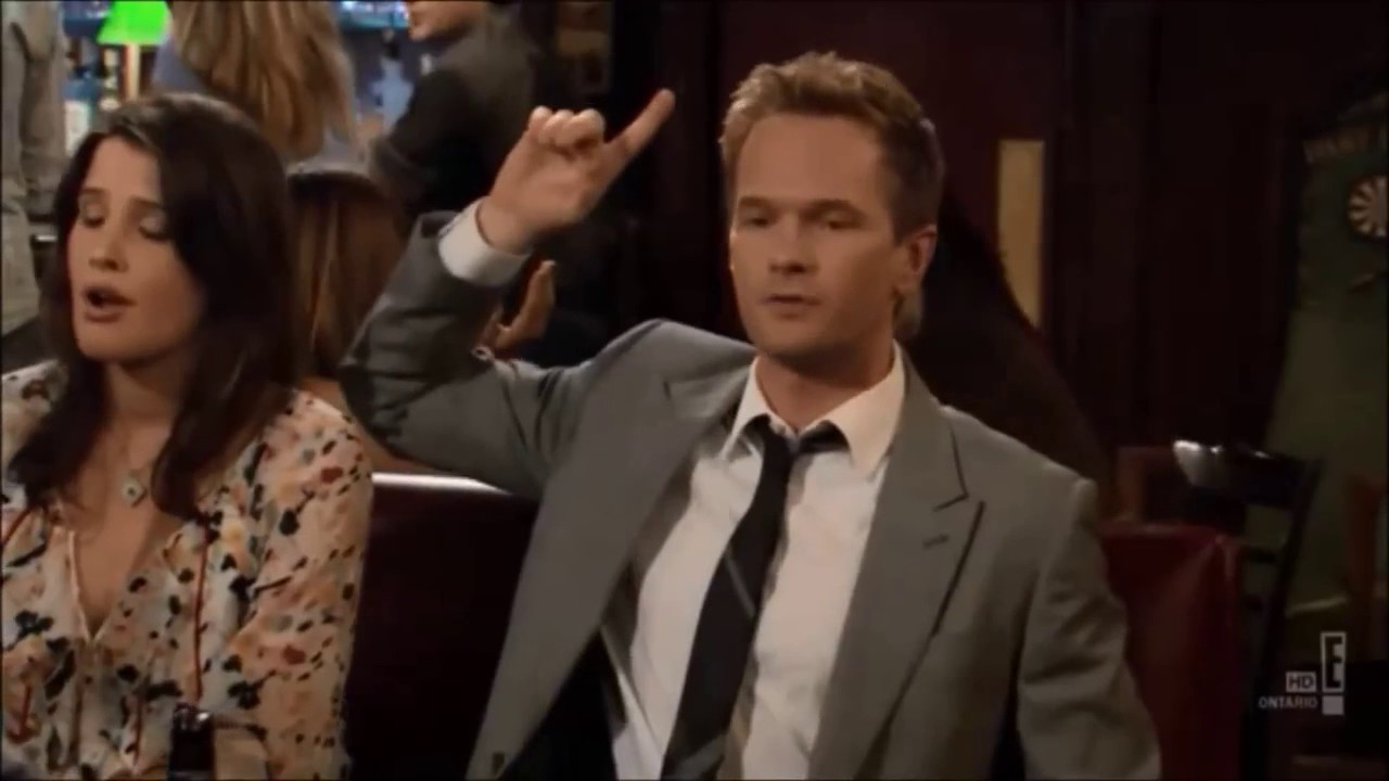 Barney Stinson Wait For It Compilation From How I Met Your Mother
