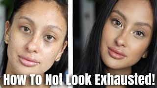 HOW TO Look AWAKE Even When You're Exhausted | MOM GO TO