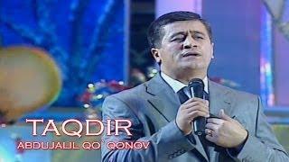 Abdujalil Qo`qonov - Taqdir (Official music video)