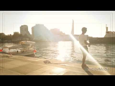 Free footage: Sevastopol city. Crimean peninsula. Russia. Sea, yachts, girls. HD.