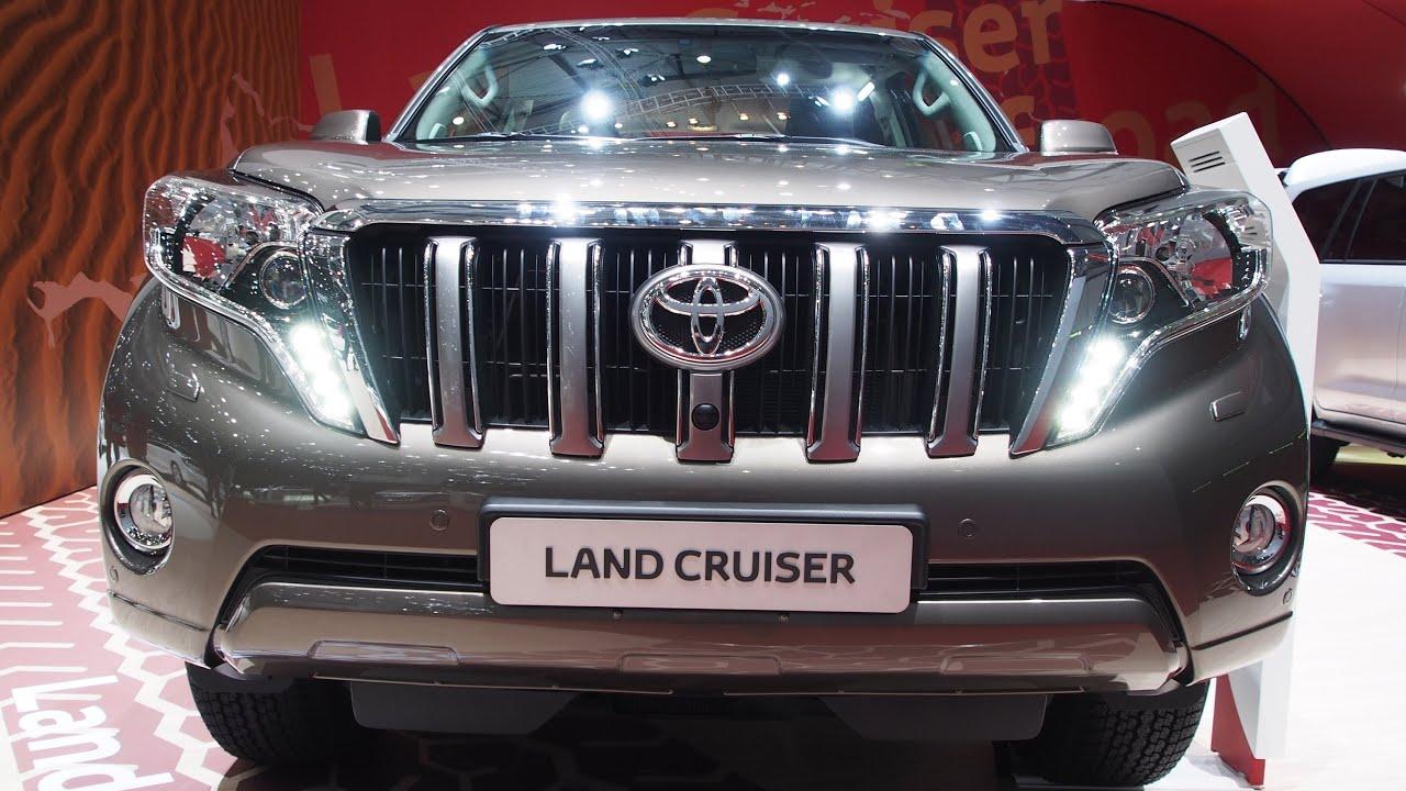 2014 Toyota Land Cruiser Prado 150 Exterior And Interior