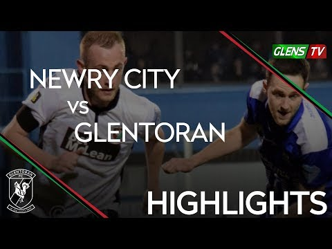 Newry City vs Glentoran - 19th April 2019