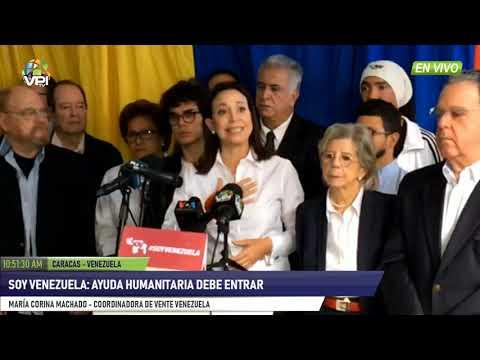 Venezuela - Soy Venezuela propuso intervención internacional de paz  - VPItv
