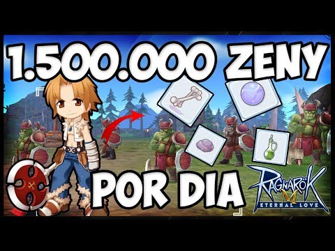 1,5M DE ZENY POR DIA!!! O MELHOR PERSONAGEM SECUNDARIO!! - Ragnarok Mobile Eternal Love (ROM)