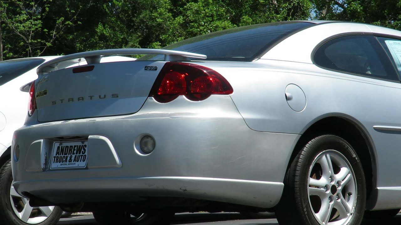 2003 dodge stratus sxt coupe start up cinematic tour youtube rh youtube com 2005 Dodge Stratus 2006 Dodge Stratus Repair Manual