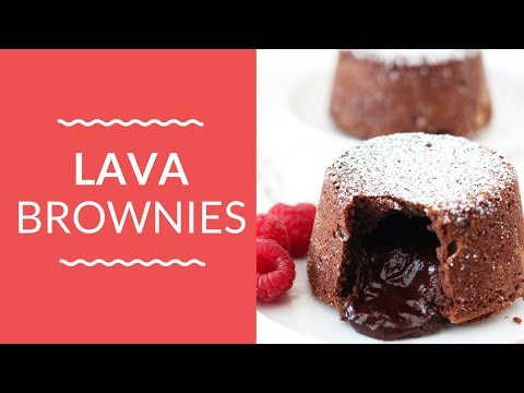 LAVA BROWNIES | Decadent Valentine's Day Recipe!