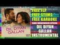 Dil Diyan Gallan (Instrumental) | Tiger Zinda Hai | Vishal & Shekhar | Atif Aslam | Dr.Vilest