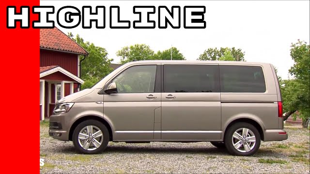 2016 vw t6 multivan highline 4motion youtube. Black Bedroom Furniture Sets. Home Design Ideas