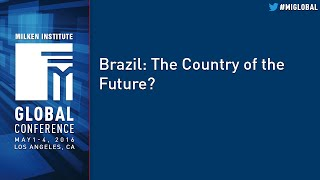 Brazil: the country of the future?
