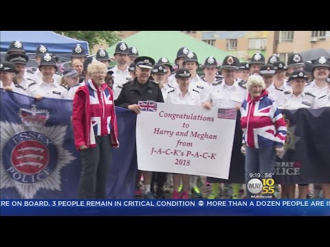 British Cops Join Charity Run In NYC