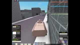 Playing Urban patrol on Roblox