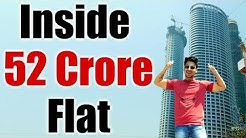 MUMBAI TALLEST SKYSCRAPER TOUR : 52 Crore Luxury Apartment from Inside