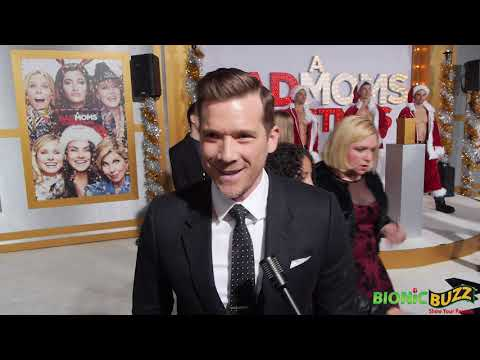 Lyle Brocato Interview at A Bad Moms Xmas World Premiere