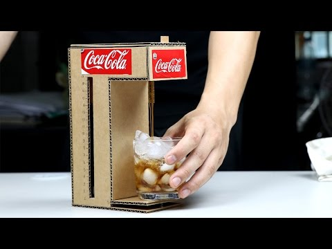 Coca Cola Fountain Machine DIY