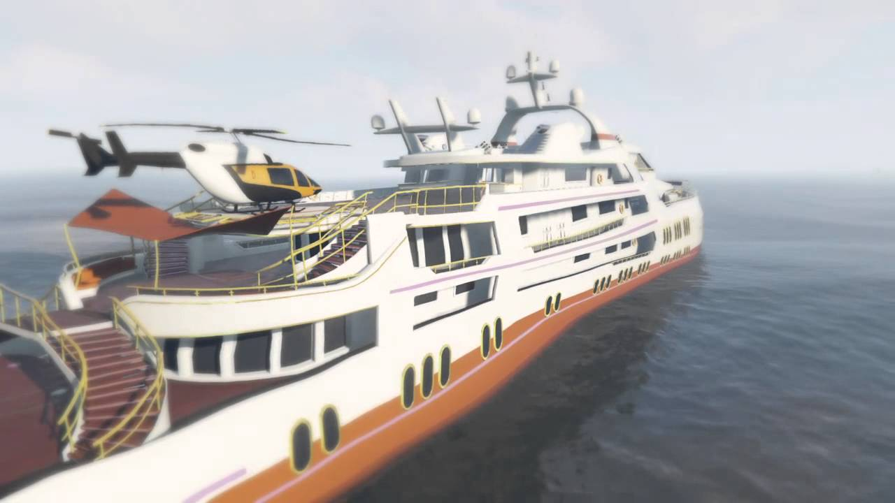 GTA Online $10,000,000 AQUARIUS YACHT!! HOT TUB CHILLING AND ...