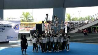 FEU Cheering Squad NCC 2012 NCR Qualifiers [HD]