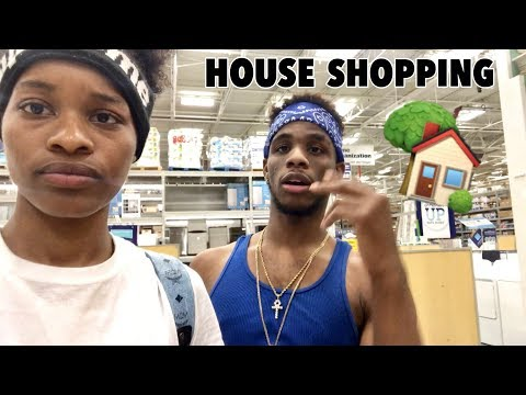 Download Youtube: WE WENT SHOPPING FOR THE HOUSE!!!