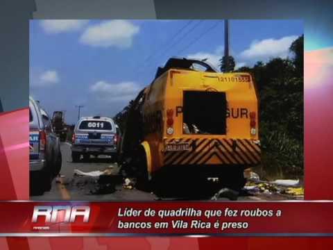Líder de quadrilha que fez roubos a bancos em Vila Rica é preso ao tentar criar célula em GO
