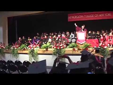 MCNY 2015 Graduation Ceremony